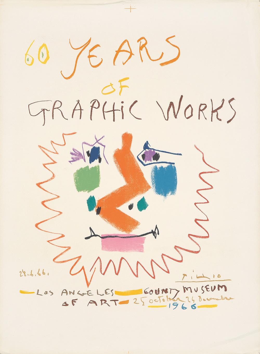 419. 60 Years of Graphic Works. 1966.