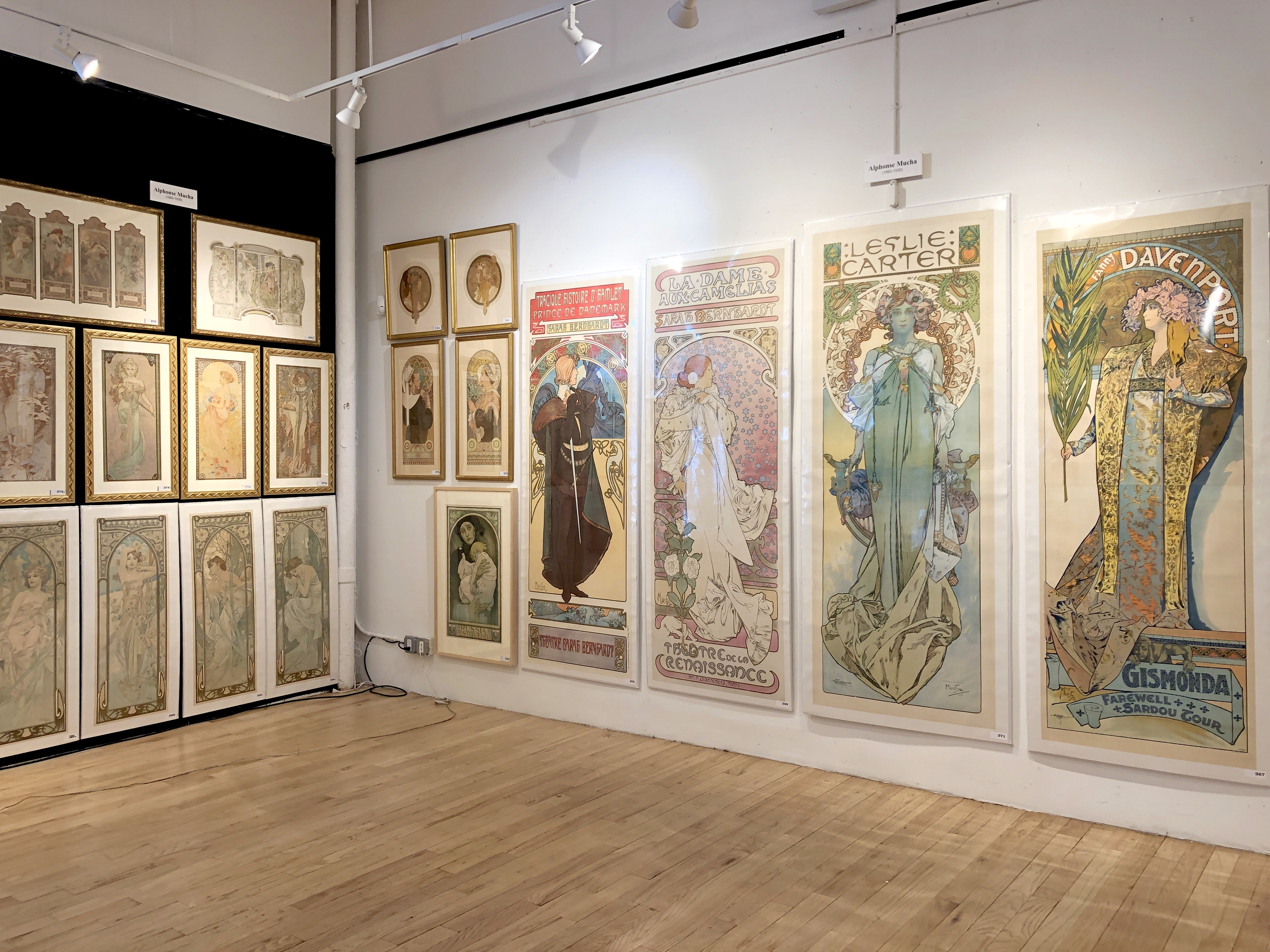"""Our """"Mucha Wall"""""""