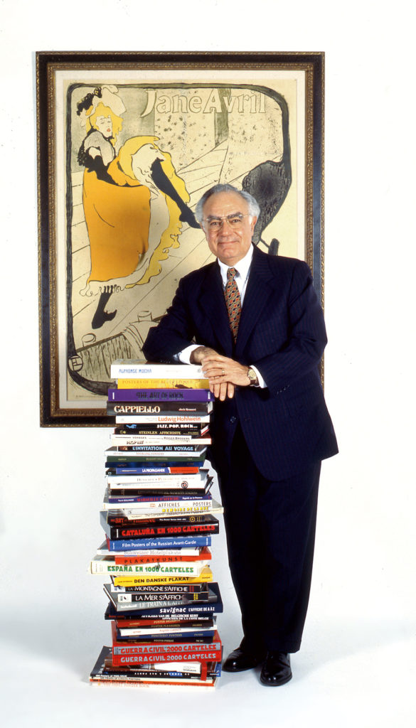 Jack with his books