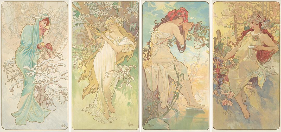 387. The Seasons. 1896. ($52,800)