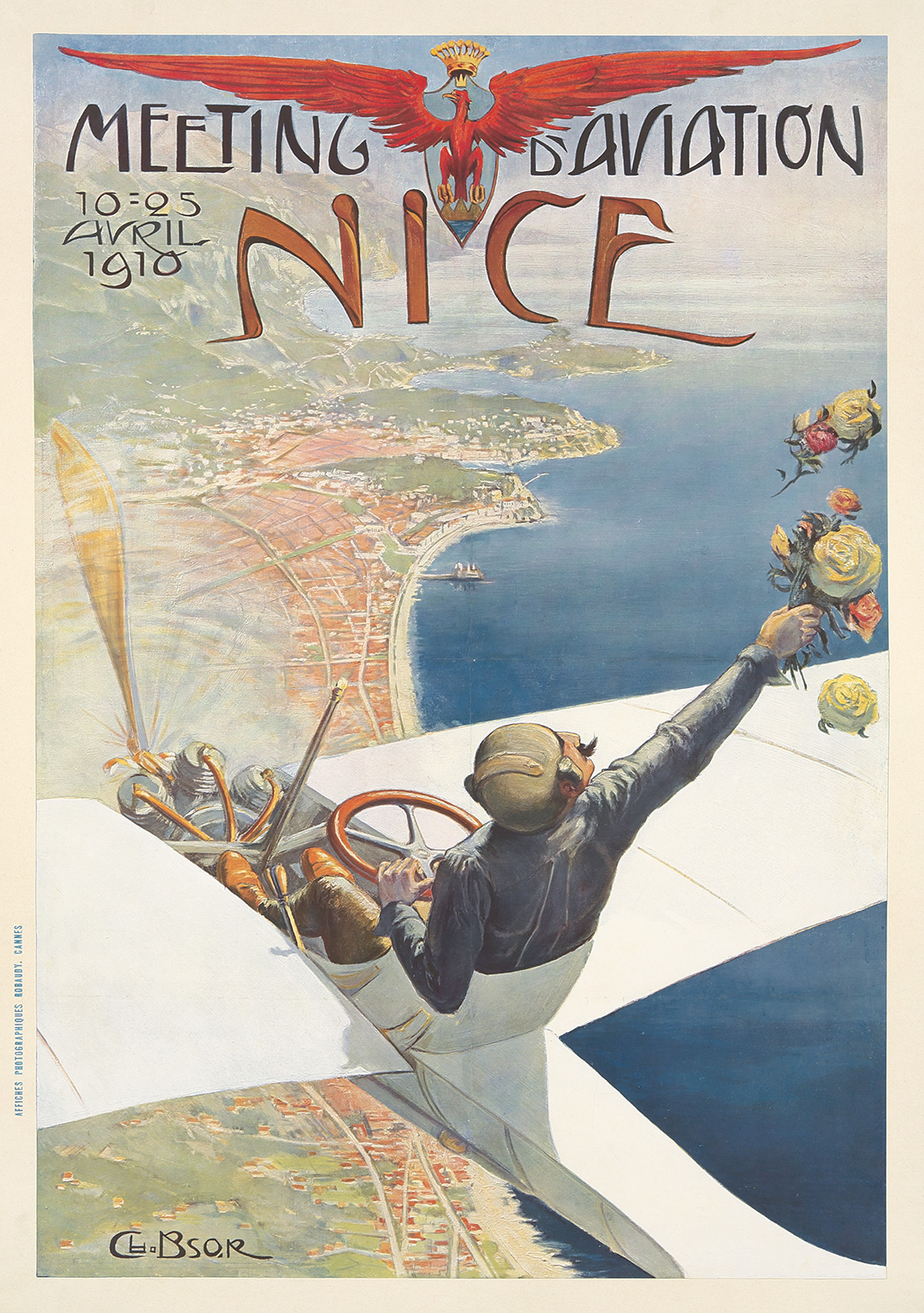 109. Meeting d'Aviation / Nice. 1910.