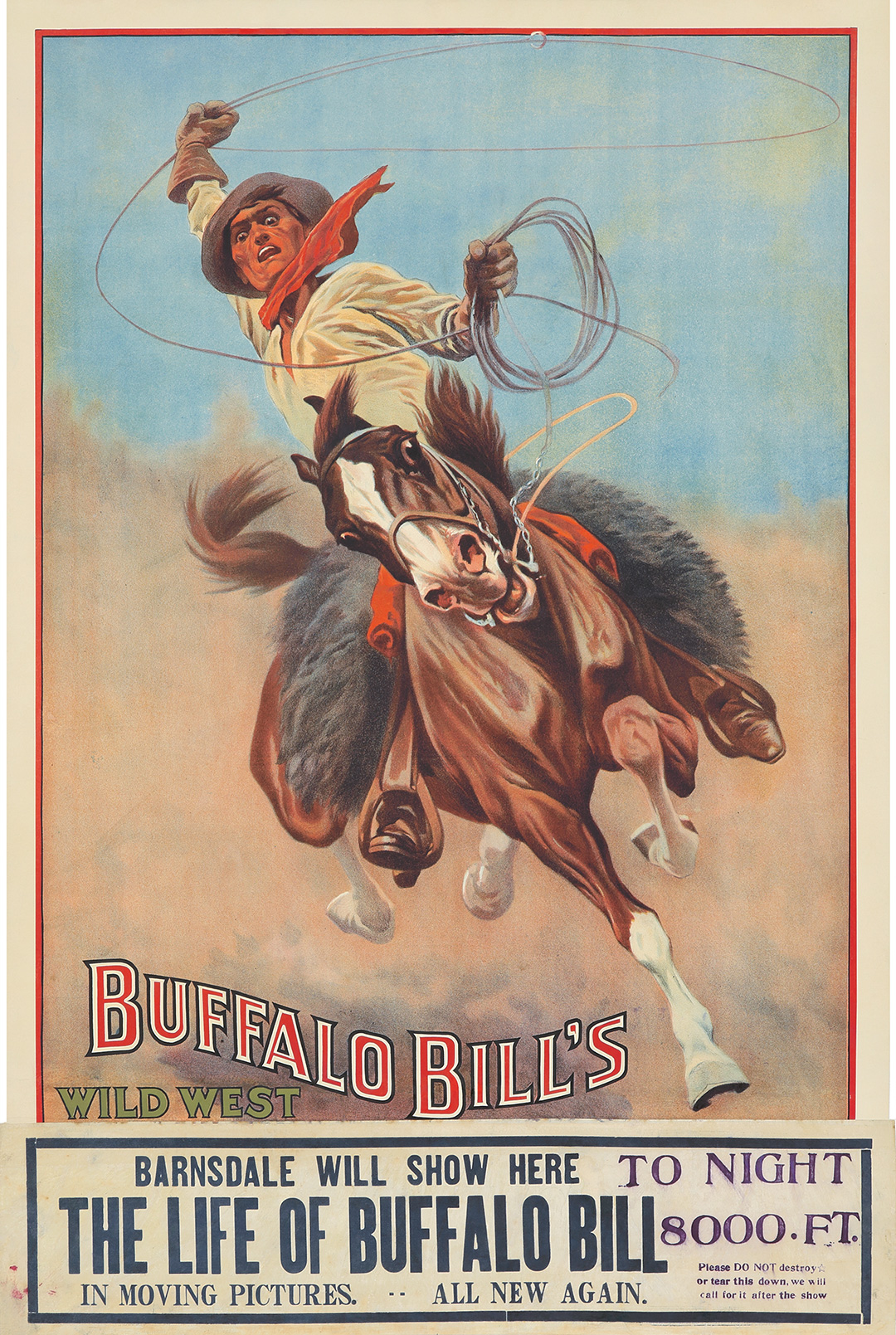 174. Buffalo Bill's Wild West.  ca. 1912.