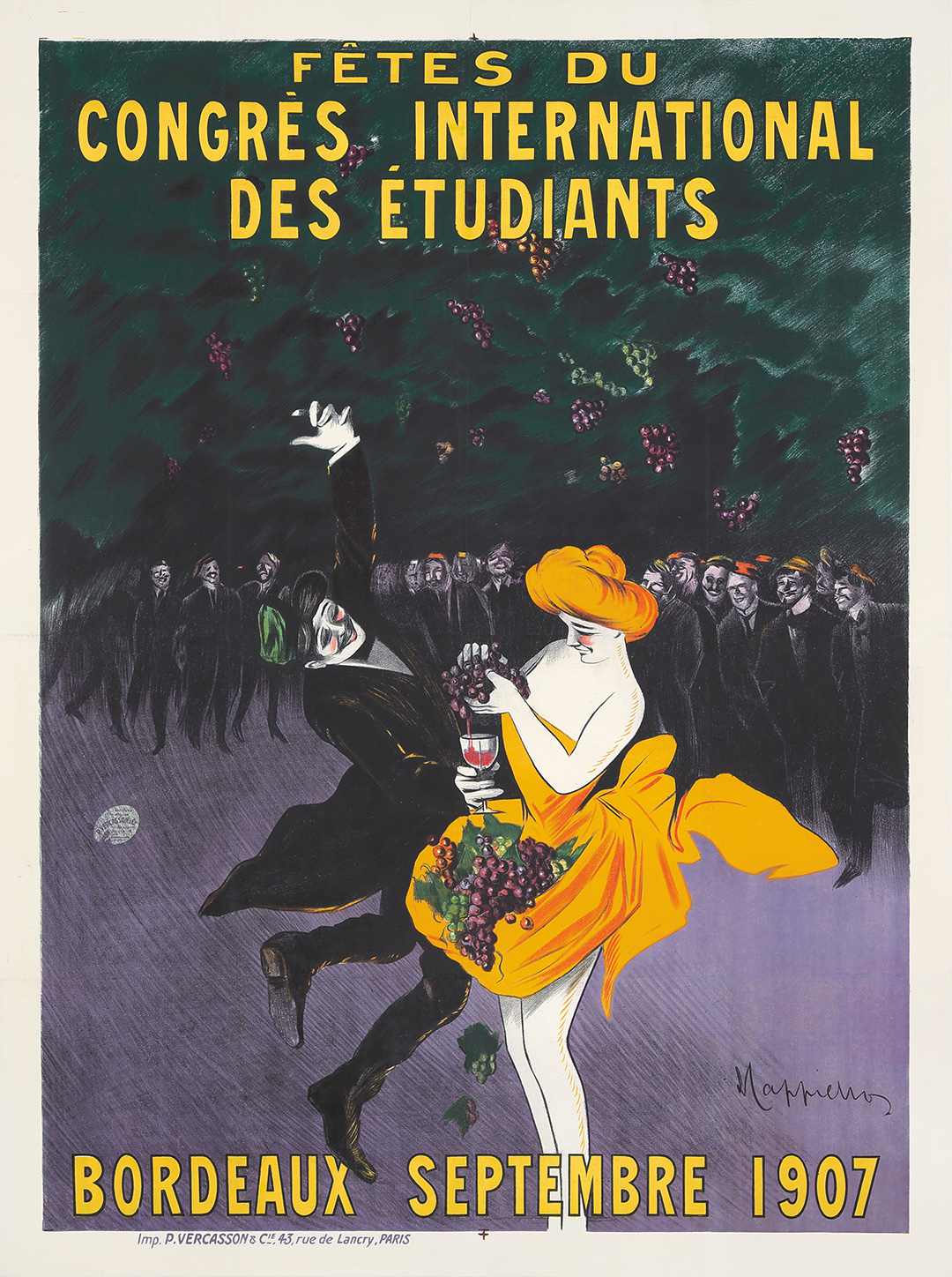 271. Congrès International Des Étudiants. 1907. ($5,520)