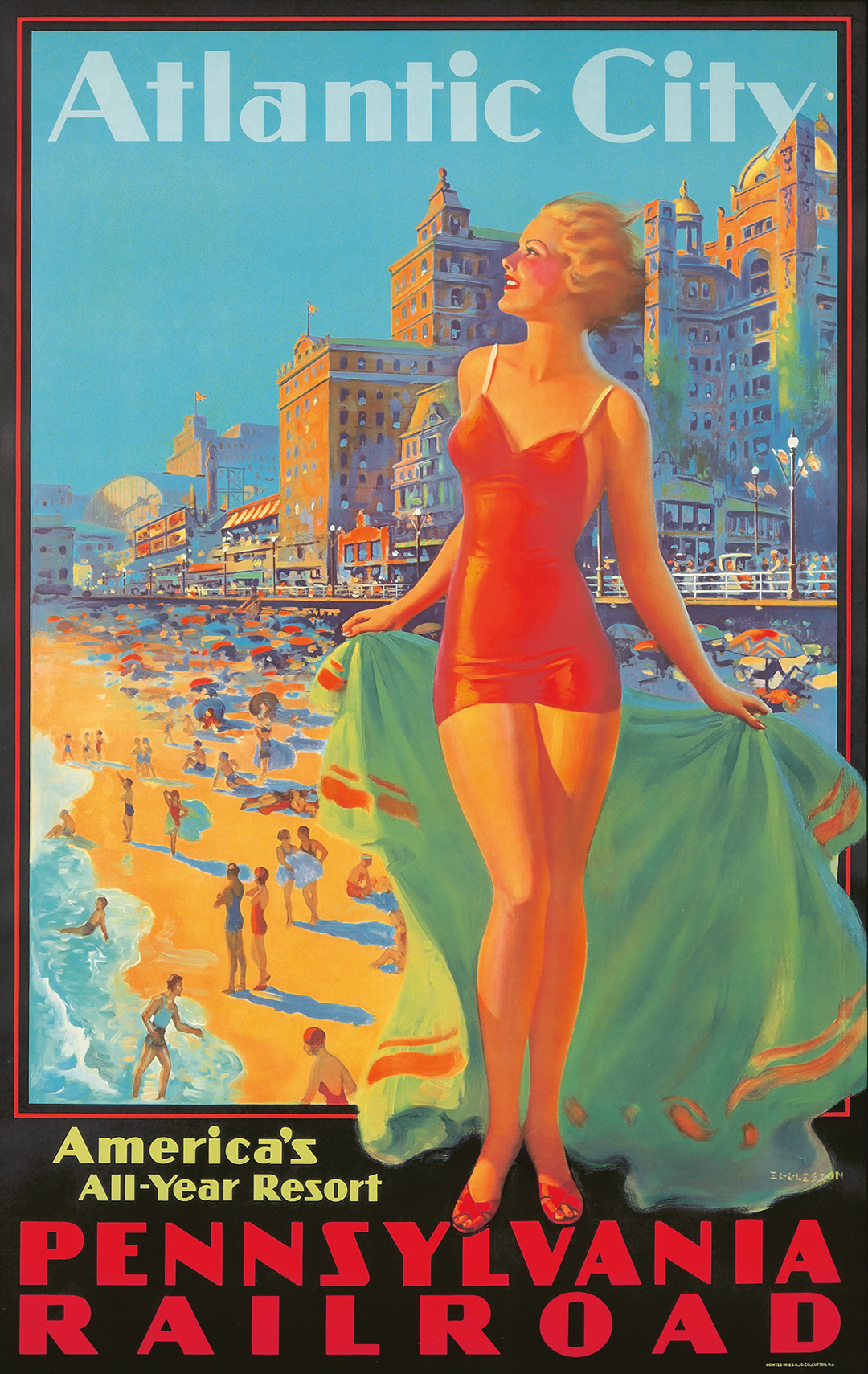 323. Pennsylvania Railroad / Atlantic City.  ca. 1935.