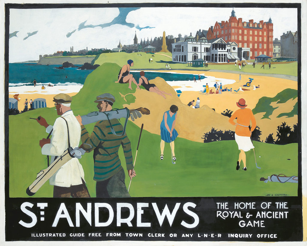 332. St. Andrews : Maquette. 1925.