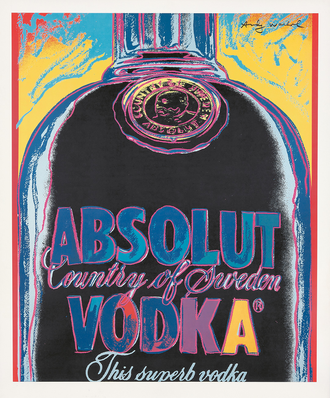 514. Absolut Vodka. 1985. ($4,080)