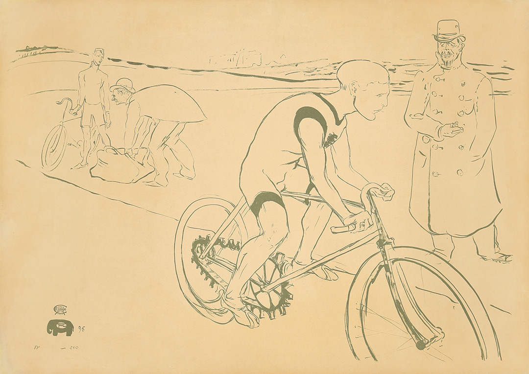 61. Cycle Michael. 1896.