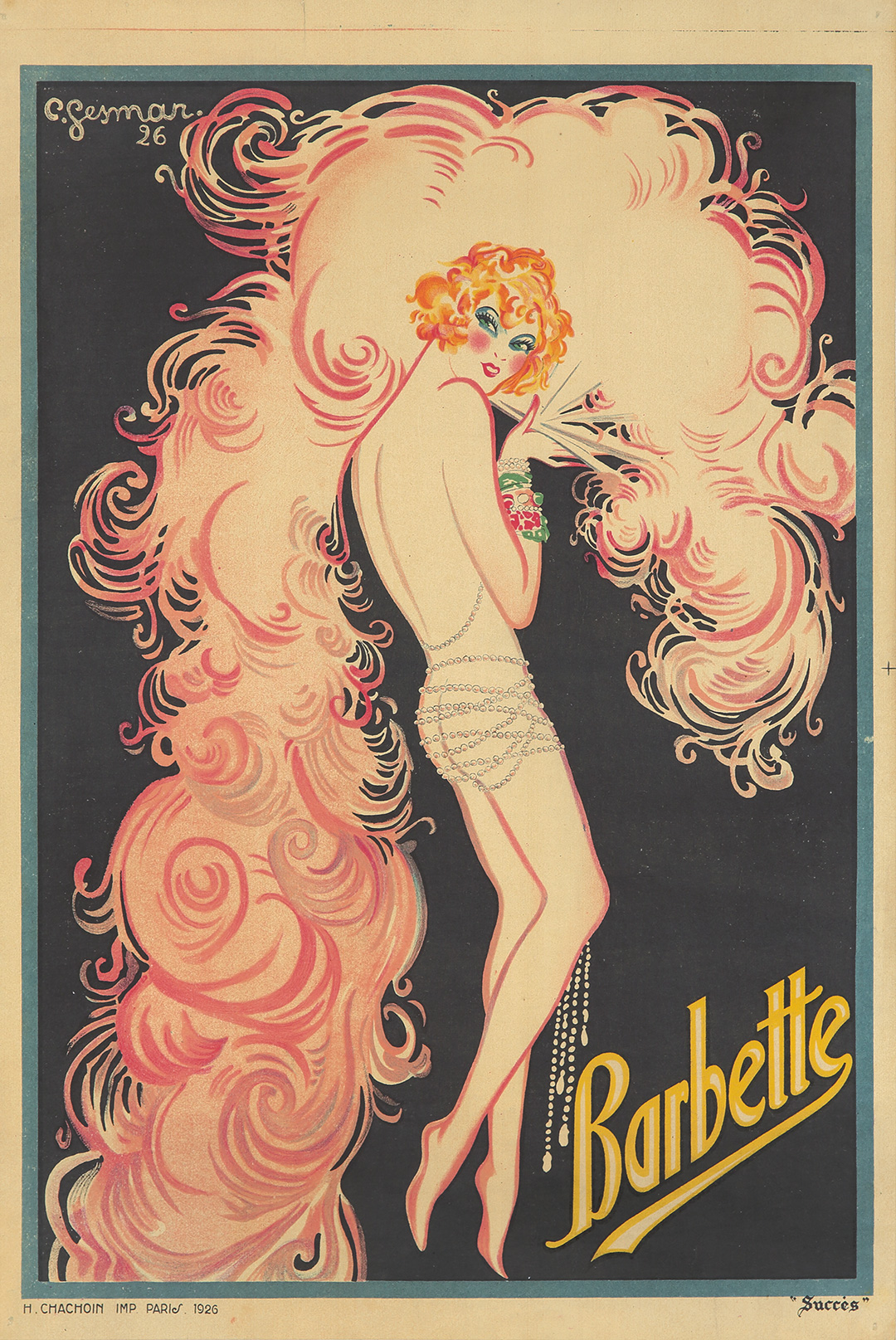 334. Barbette. 1926. (SOLD $5,280)
