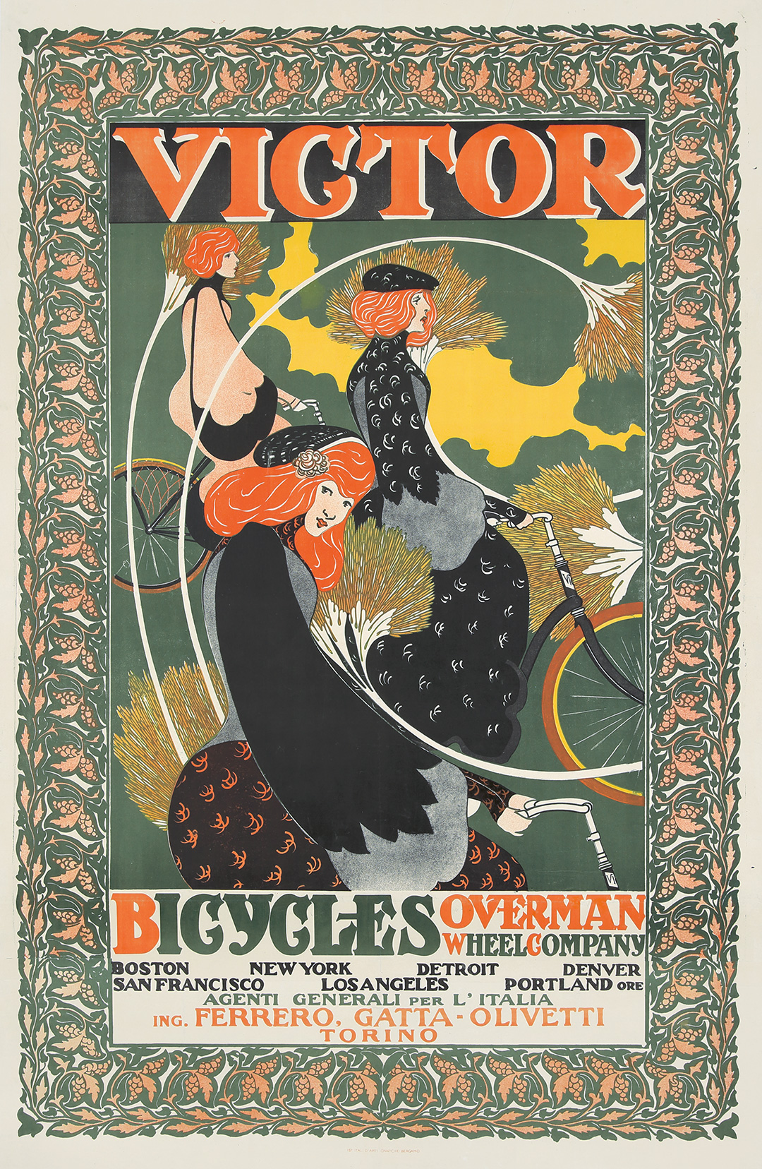 18. Victor Bicycles / Overman Wheel Co. 1896.