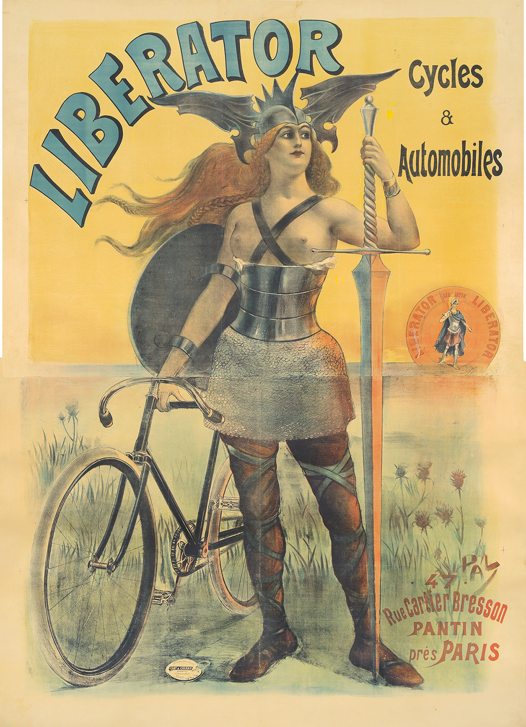 50. Liberator Cycles & Automobiles. 1899.