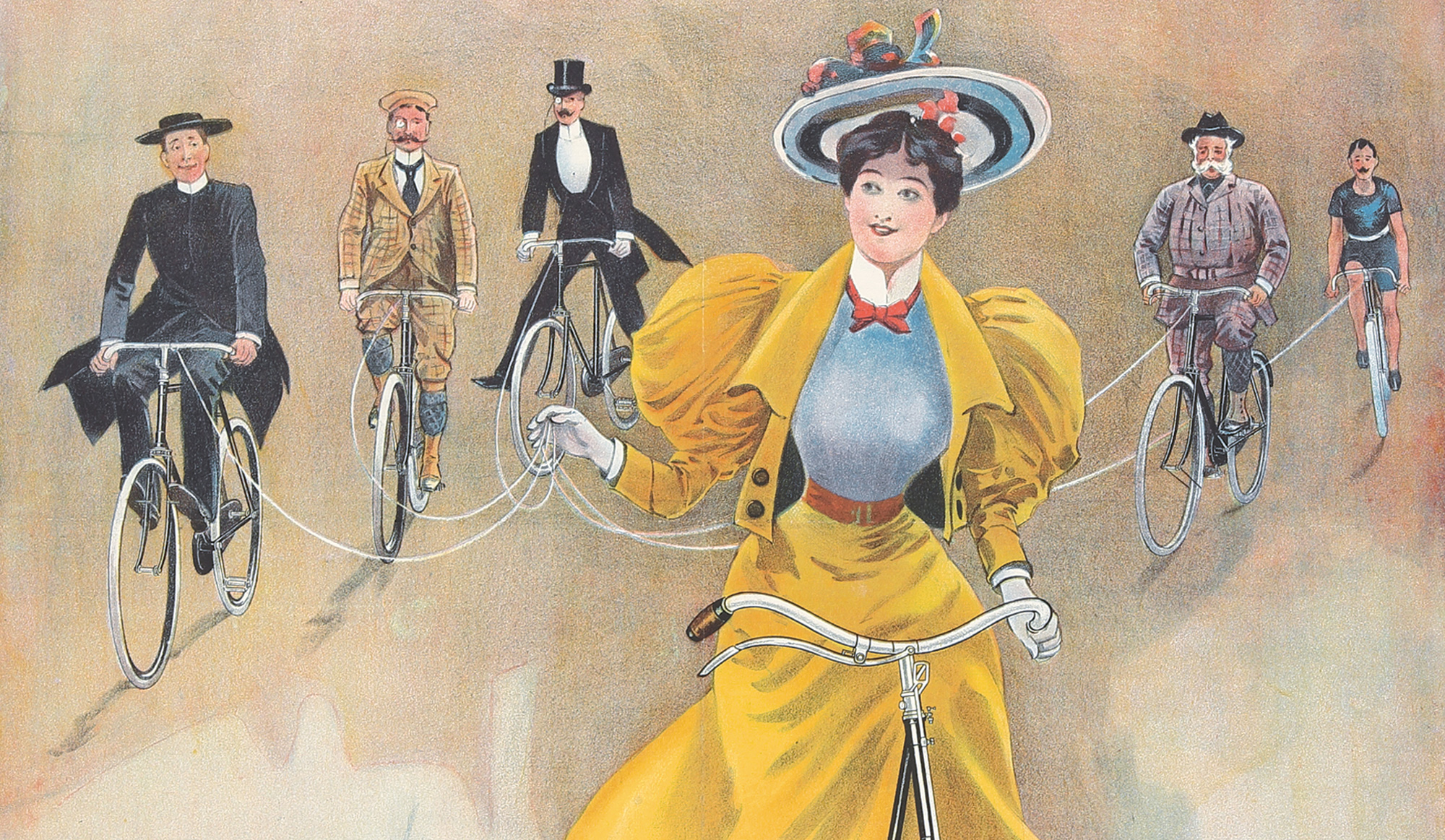 From Iconoclasts To Goddesses: How Bicycle Posters Prompted Women's Liberation